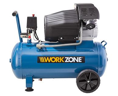 [lokal Aldi Konstanz] WORKZONE® 50 L-Kompressor ; 2,2 kW ; 8 bar ; Ansaugleistung ca. 412 l/min