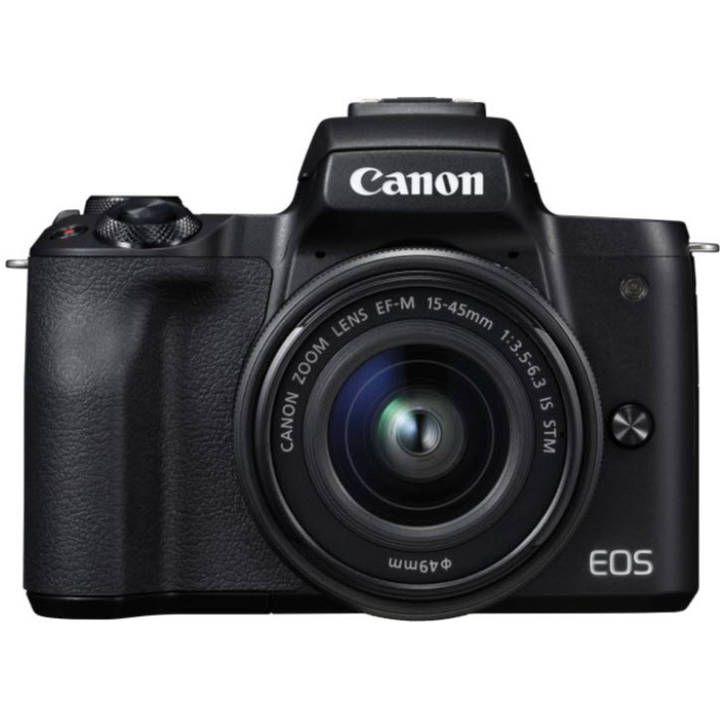 [Schweiz]CANON EOS M50 Black inkl. EF-M 15-45mm
