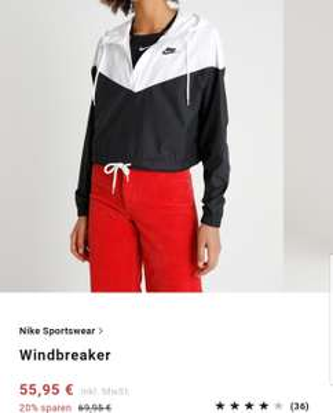 Windbreaker Jacke NIKE