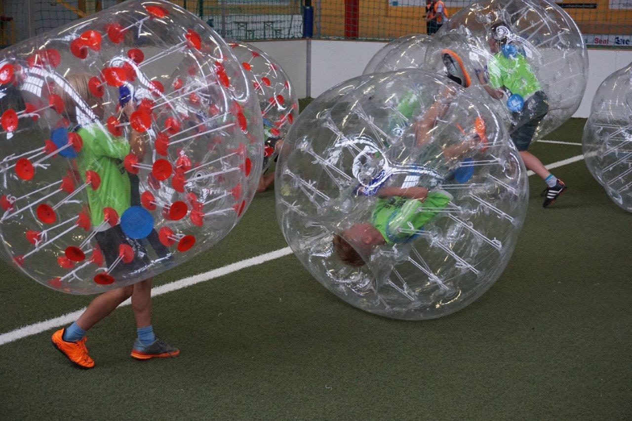 Country Side Bubble Ball aufblasbar mit Haltegurt und Griff