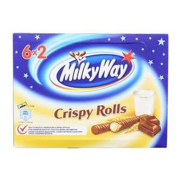 Milky Way Crispy Rolls 6x2er bei Aldi Nord