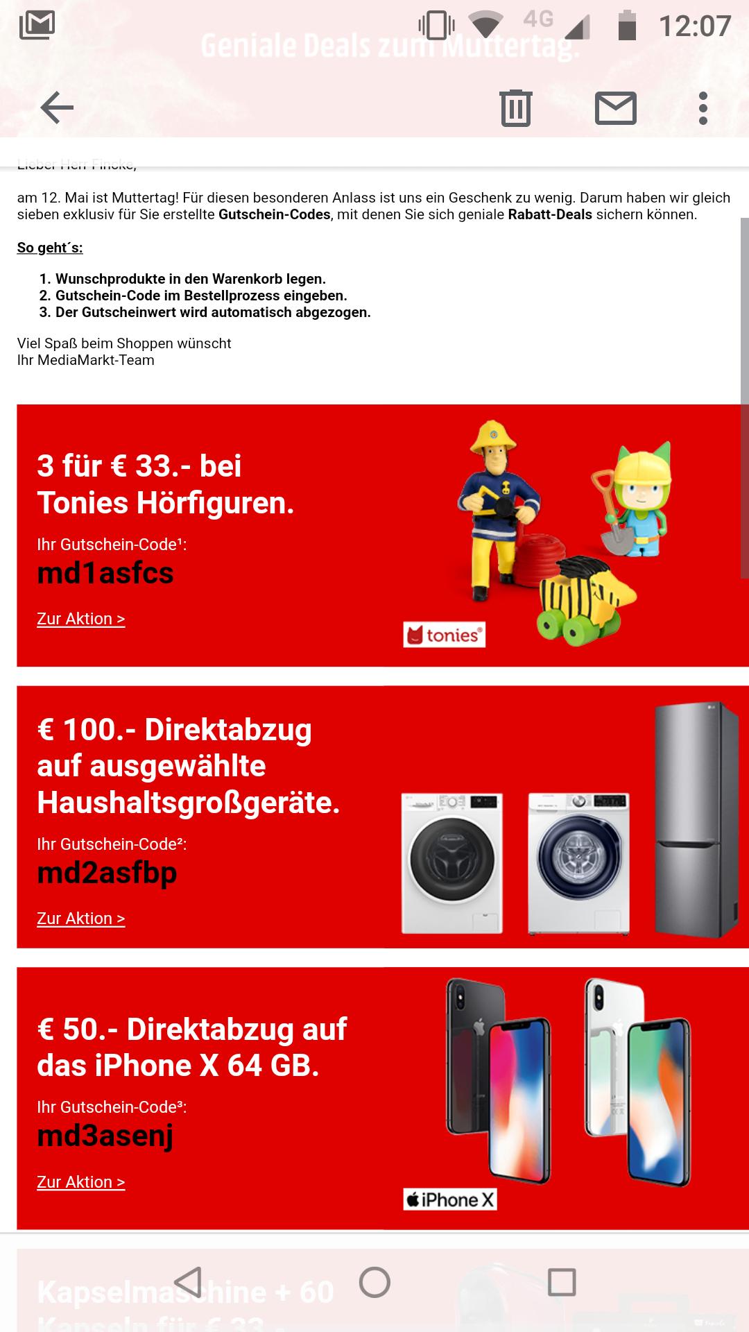 3 Tonie- Figuren für nur 33€  bei Media Markt