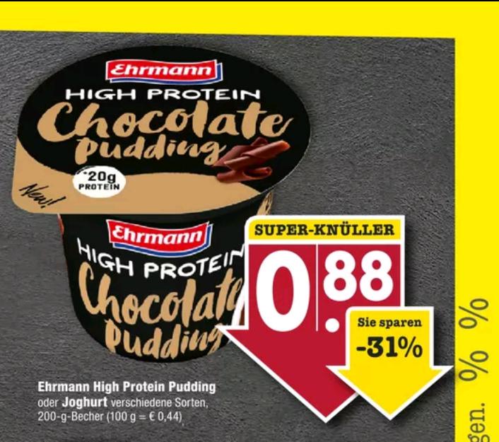 Ehrmann Protein Pudding Edeka (Südwest/E-Center)