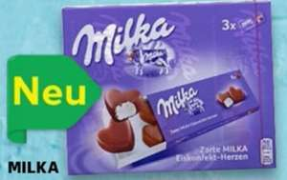 [Kaufland] Milka Eiskonfekt Herzen 3x 80ml