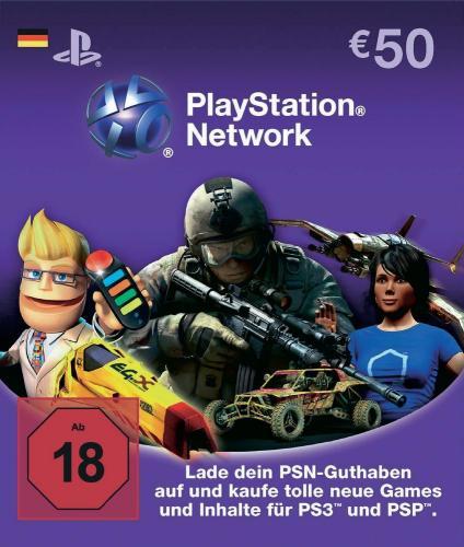 SMDV: 10€ Rabatt auf 50€ Playstation Network Card - verlängert