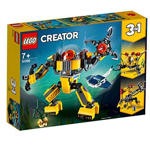 (Prime) LEGO Creator 31090 - Unterwasser-Roboter