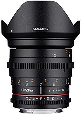 Samyang 20mm T1.9 ED AS UMC für Sony E-Mount