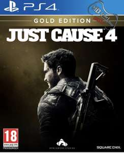 Just Cause 4 Gold Edition Steelbook AT Version PS4 XBO