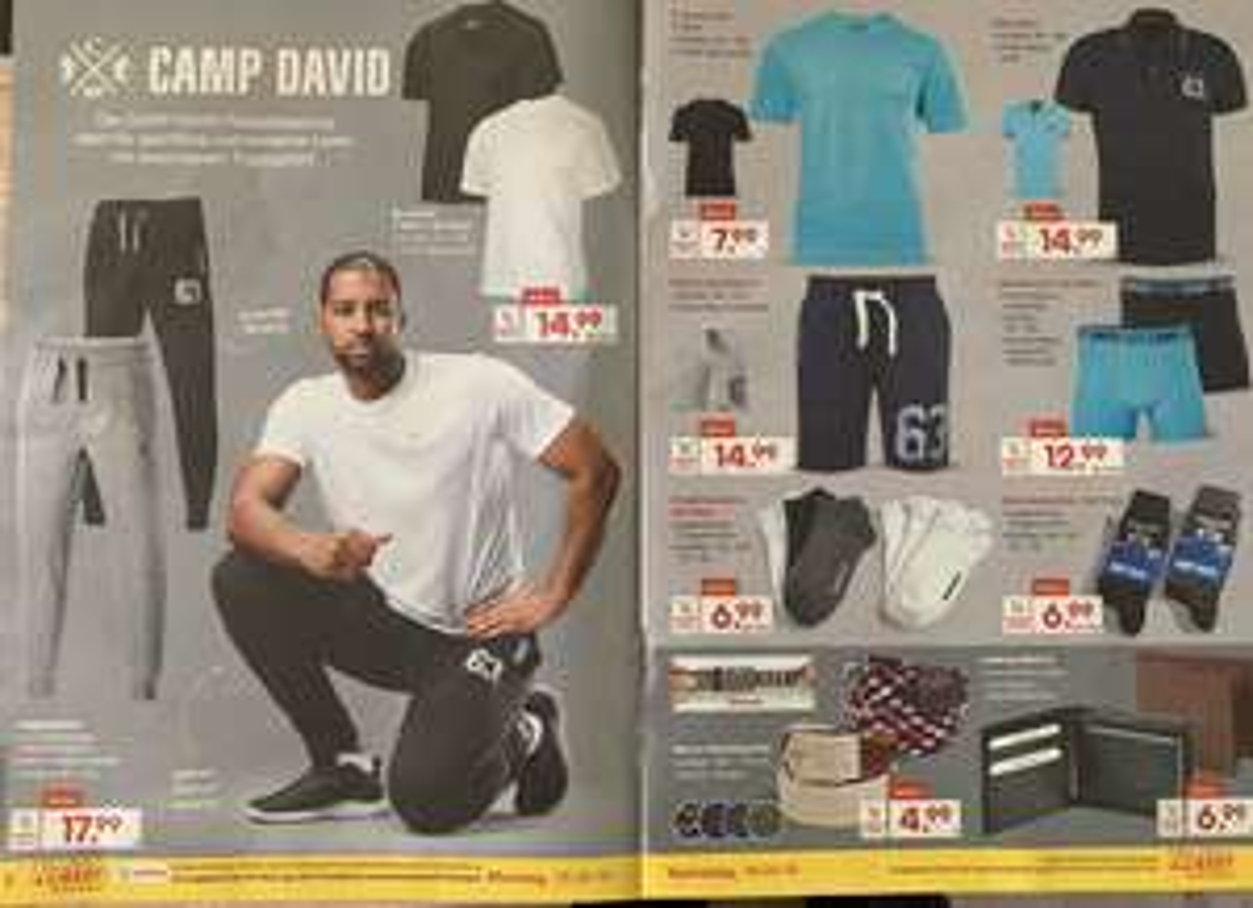 Camp David,verschiedene Artikel, Joggingshose, T-Shirts, Polo Hemden