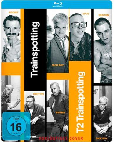 Trainspotting + T2 Trainspotting Doppelset Limited Steelbook Edition (Blu-ray) für 8,99€ (Media Markt)