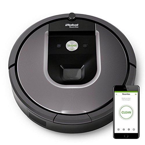"iRobot Saugroboter ""Roomba 960"" (Dirt Detect Technologie, reinigt alle Hartböden und Teppiche, WLAN-fähig, per App programmierbar) [Amazon]"