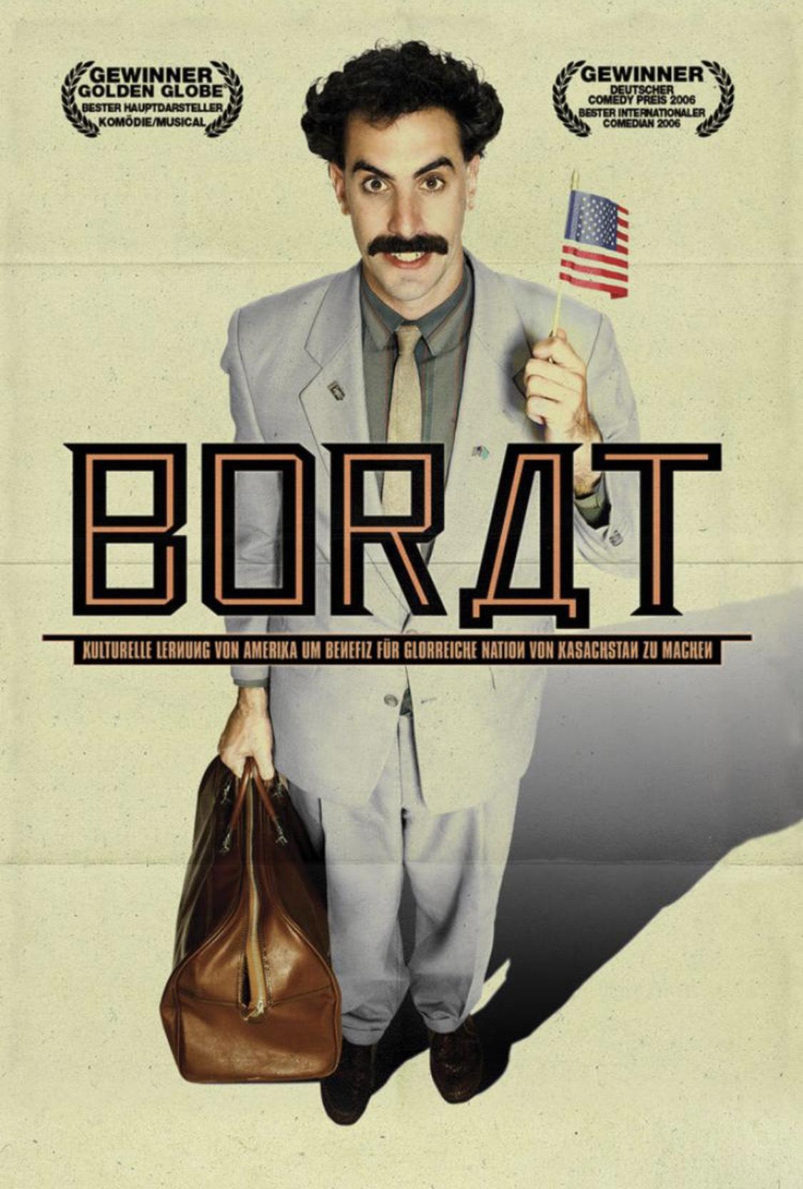 [iTunes] Borat (HD und OT) für 3,99€ zum Kauf