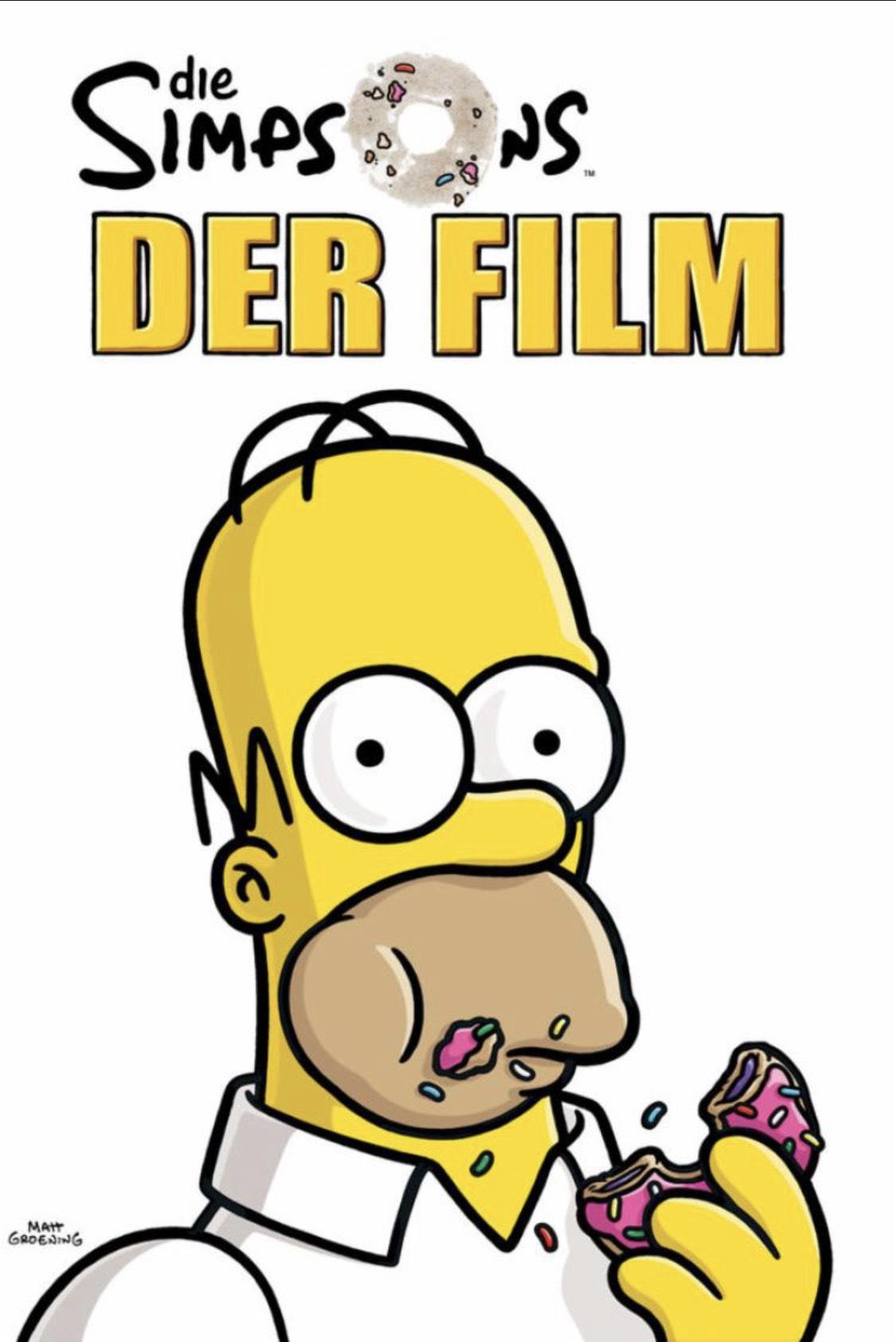 [iTunes] Die Simpsons - Der Film (HD und OV) für 3,99€ zum Kauf