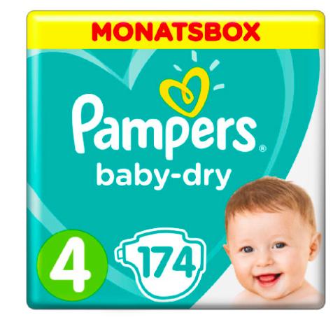33% Rabatt auf Pampers Baby Dry Monatsboxen, kombinierbar mit Babypoints