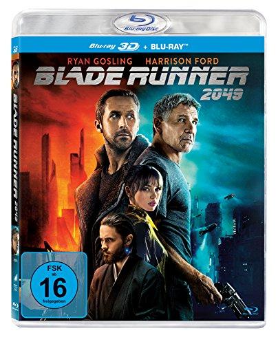 Blade Runner 2049 (3D Blu-ray + Blu-ray) für 9,97€ & Blade Runner 2049 (Blu-ray) für 7,97€ (Amazon Prime)
