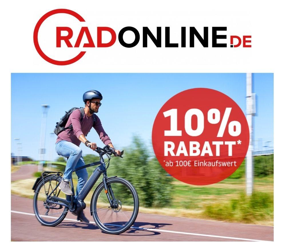 [Radonline.de] -10% Gutschein und MBW 100€