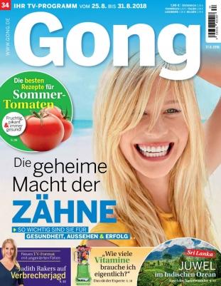 Gong Abo  - 1 Jahr + gratis Monat (56 Ausgaben) für 119,60 € mit 120 € BestChoice-Universalgutschein