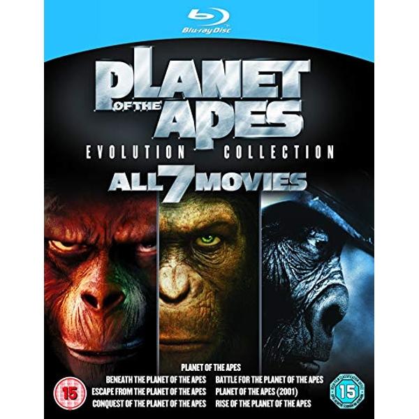 Planet der Affen 7 Film Collection (Blu-ray) für 9,99€ (Shop4de)