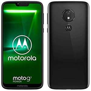 moto g7 power Dual-SIM Smartphone (5000mAh Akku, 6,2 Zoll Display, 12-MP-Kamera, 64GB/4GB, Android 9.0) [Amazon]