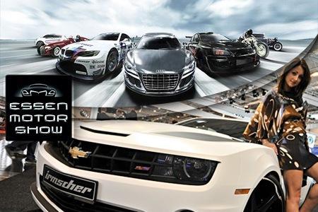Essen Motorshow 2012 Eintrittskarte inkl Parkticket für 11,90