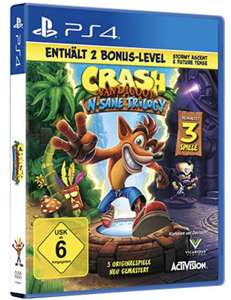 Crash Bandicoot N Sane Trilogy PS4 PlayStation 4 für 26,99€ mit Prime