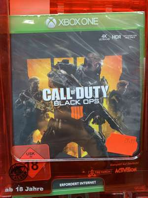(Lokal Saturn Gelsenkirchen) Call of Duty Black OPs 4 PS4/ Xbox One