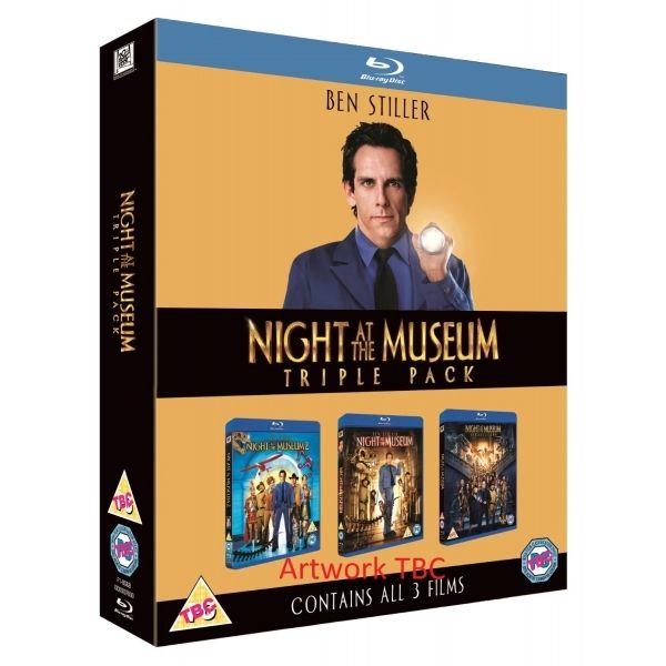 Nachts im Museum 1-3 [Blu-ray] [Shop4de.com]