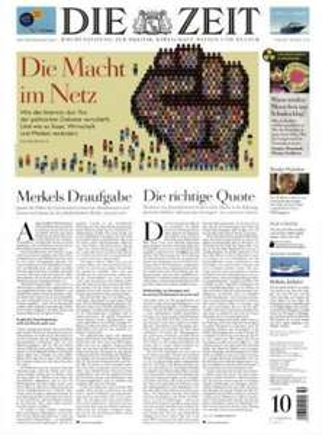 """""""Die Zeit"""" Jahresabo für 137,80€ (Neukunden) (53 Ausgaben) ~ 2,60€ pro Ausgabe"""