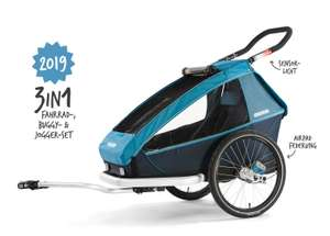 CROOZER Kid Plus for 2 2019 3in1