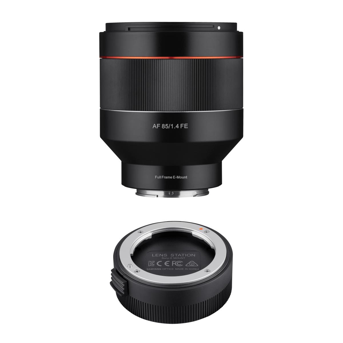 SAMYANG 85mm F1.4 Sony FE + Lens Station