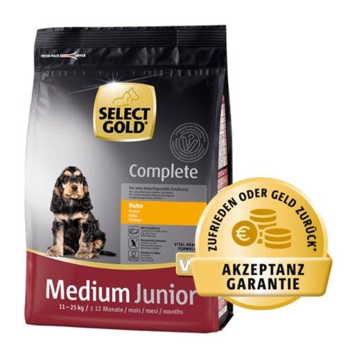 [GzG] SELECT GOLD Akzeptanzgarantie, bis zu 6 kg Futter gratis