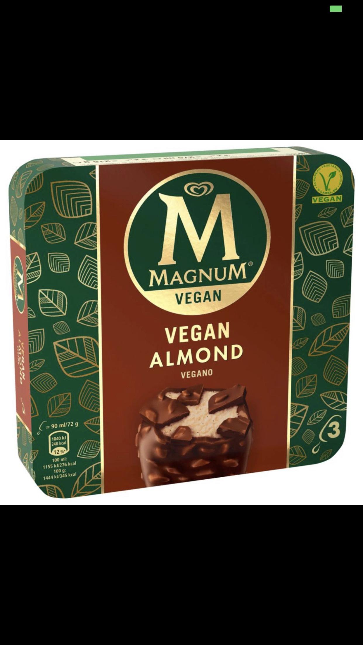 [Lokal] Magnum Eis vegan - bereits jetzt bei real in Dreieich für 1,99 €
