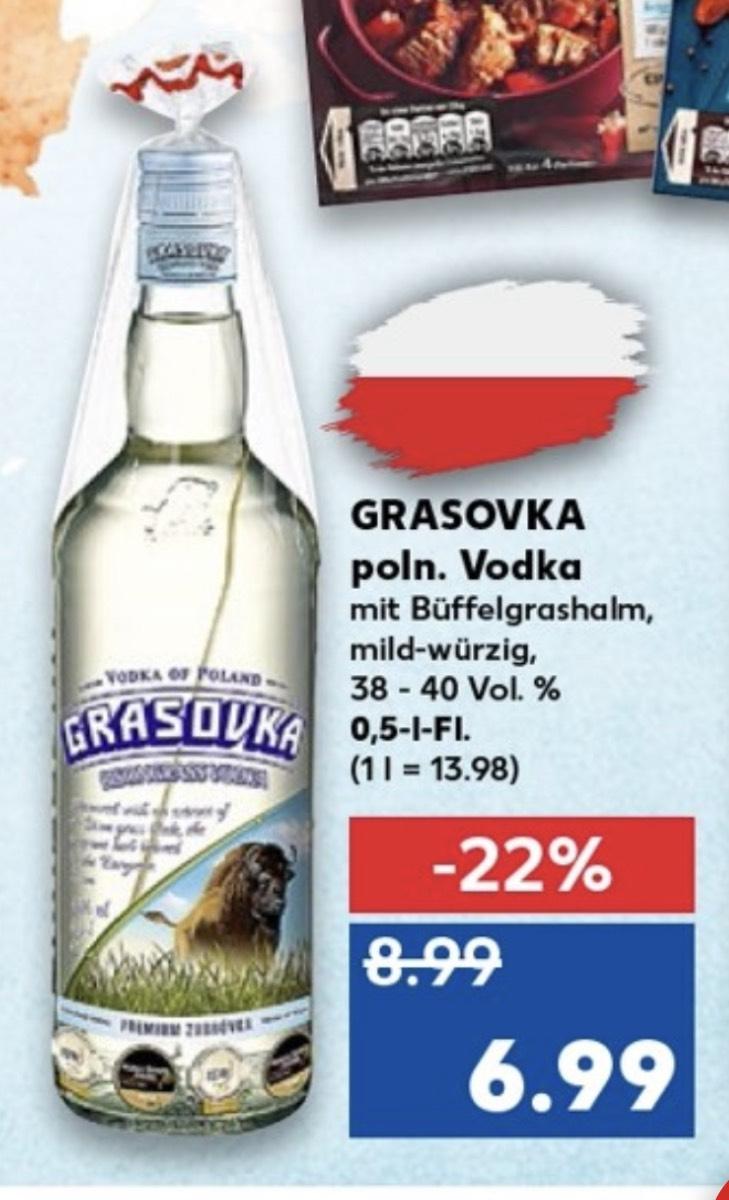 [Kaufland] Grasovka polnischer Vodka 40% bei Kaufland für 6,99 ab 16.05.2019