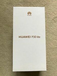 HUAWEI P30 Lite - 128GB - Peacock Blue / Blau - DUAL SIM - NEU / OVP (ebay plus)