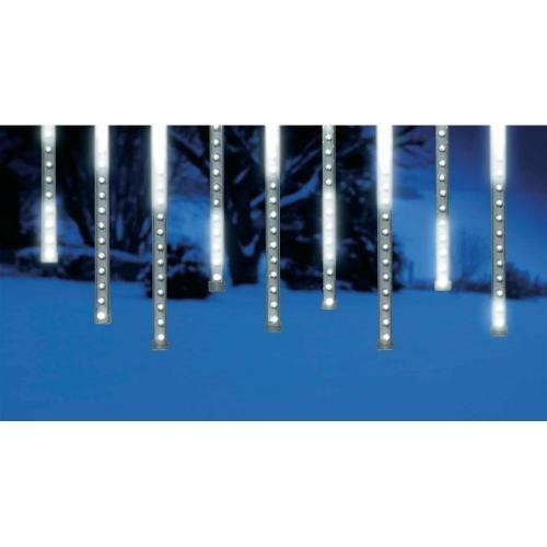 Lichtervorhang Schneefalleffekt 120 LED`s Konstmide bei Ebay