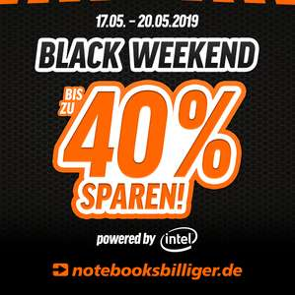 """Black Weekend bei Notebooksbilliger vom 17.05. bis 20.05. // z.B. Lenovo Ideapad 330-15ICH (15.6"""", FHD, i5-8300H, GTX 1050)"""