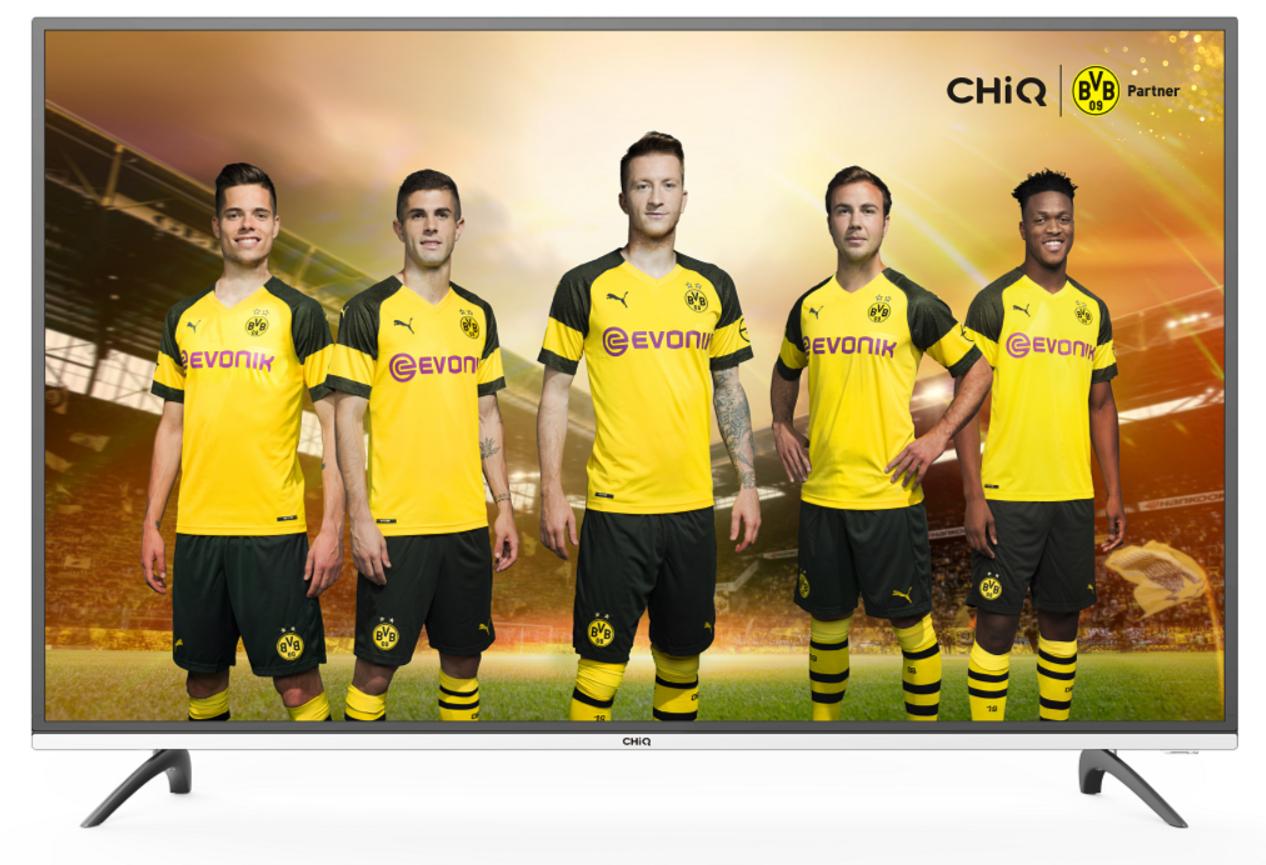ChiQ U40E6000 4K HDR Smart LED-Fernseher mit UHD, Triple Tuner, Netflix & YouTube TV