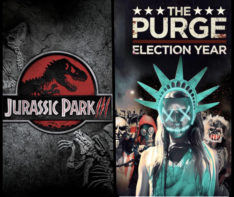 The Purge: Election Year und Jurassic Park 3 in 4K HDR für nur 3,99€ kaufen [iTunes]