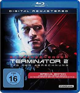 Terminator 2 - Tag der Abrechnung Special Edition (Digital Remastered Blu-ray) für 6,99€ (Amazon Prime & Saturn & Media Markt)
