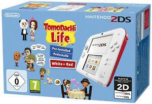 Nintendo 2DS weiß-rot + Tomodachi Life für 62,10€ (eBay)