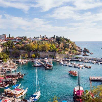Flüge: Türkei [Mai] - Wochenendtrip - Von München nach Antalya ab nur 22€inkl. Gepäck