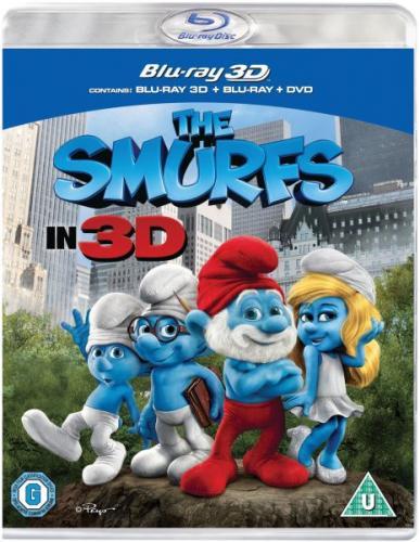 Blu-Ray - Die Schlümpfe 3D (2 Discs) für €12,30 [@Zavvi.com]