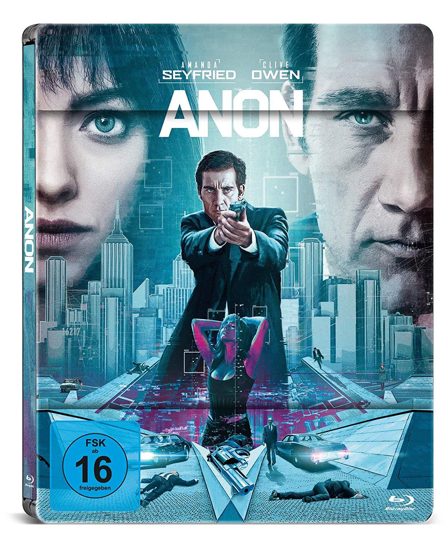 [Amazon] Anon (Blu-ray Steelbook) nun für 8,97€ inkl. Versand