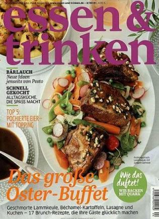 Essen & Trinken Abo (12 Ausgaben) für 53,80 € mit 35 € BestChoice Universalgutschein oder 30 € BestChoice inkl. Amazon