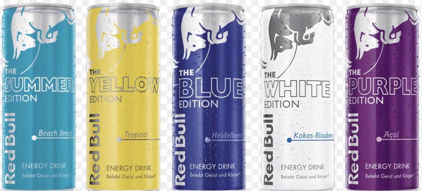 Red Bull verschiedene Sorten Edeka & Marktkauf Bayern