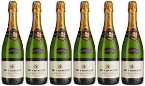 Brut Dargent Chardonnay Méthode Traditionnelle Sekt (6 x 0.75 l) Prime Amazon