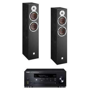stereo bundle verst rker yamaha crx n470d. Black Bedroom Furniture Sets. Home Design Ideas