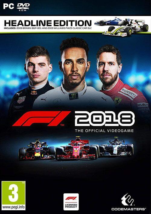 F1 2018 Headline Edition (Steam) für 9,19€ (CDKeys)