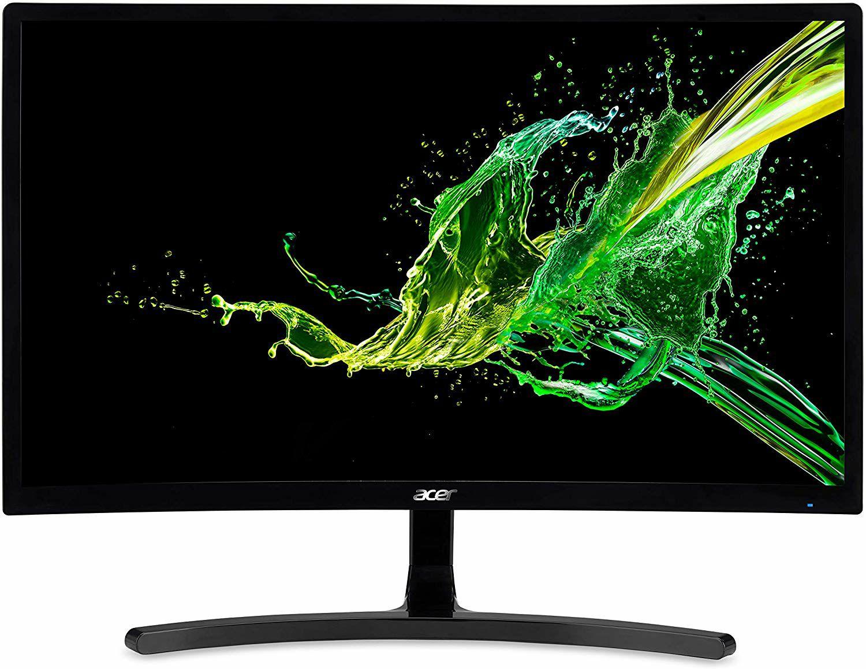 "[Vorbestellung] Acer ED242QRA Curved-Monitor 23.5"" - Full HD, VA Panel, 8bit, 144Hz, LFC, FreeSync, G-Sync Compatible (Amazon UK)"