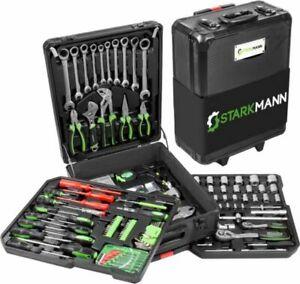 399-teilige Starkmann Blackline Werkzeugkoffer